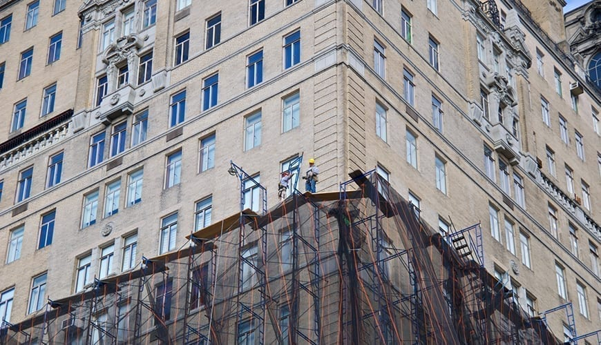 NYC Scaffolding Accident