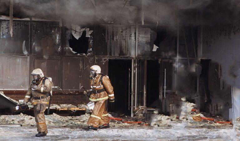 Explosion de edificio